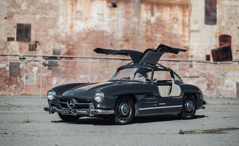 "Bring a Trailer Goes Posh as Auction Site Starts ""White Glove"" Service by Selling Its Own Mercedes Gullwing at No Reserve"