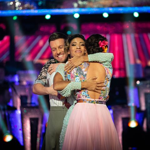 """Strictly's Chris Ramsey shares sweet message to """"legend"""" Karen Hauer"""