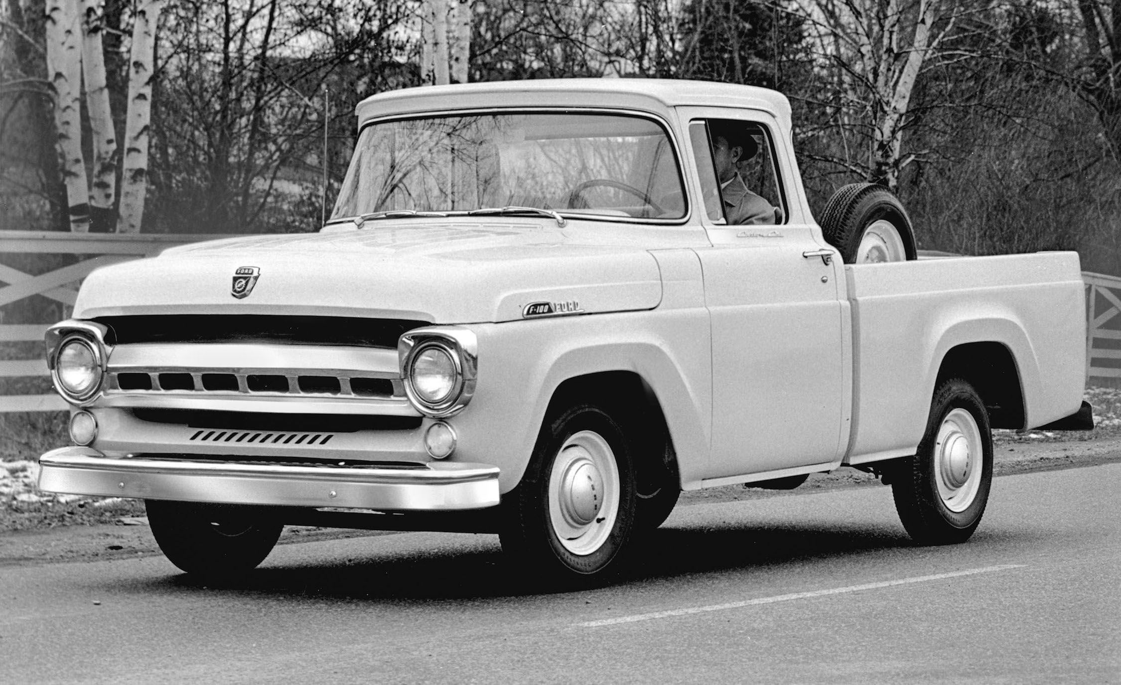 ford\u0027s f series pickup truck its history, from the model tt to today