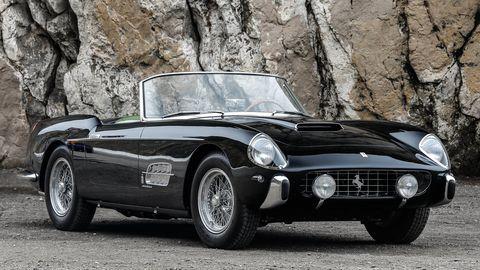1958 Ferrari 250 GT Series I subasta Montereyfrontal