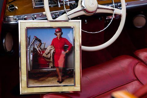 etta fitzgerald  and her 1959 mercedes