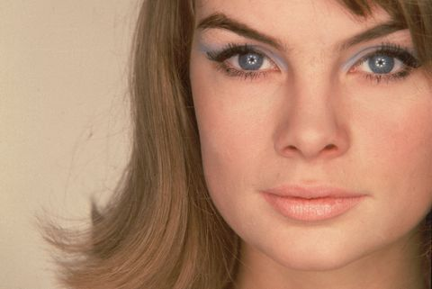Portrait Of Model Jean Shrimpton