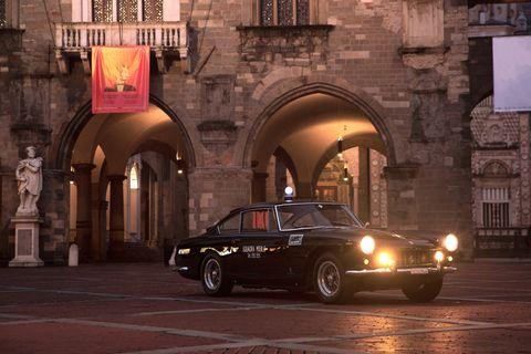 1962 ferrari 250gte police car