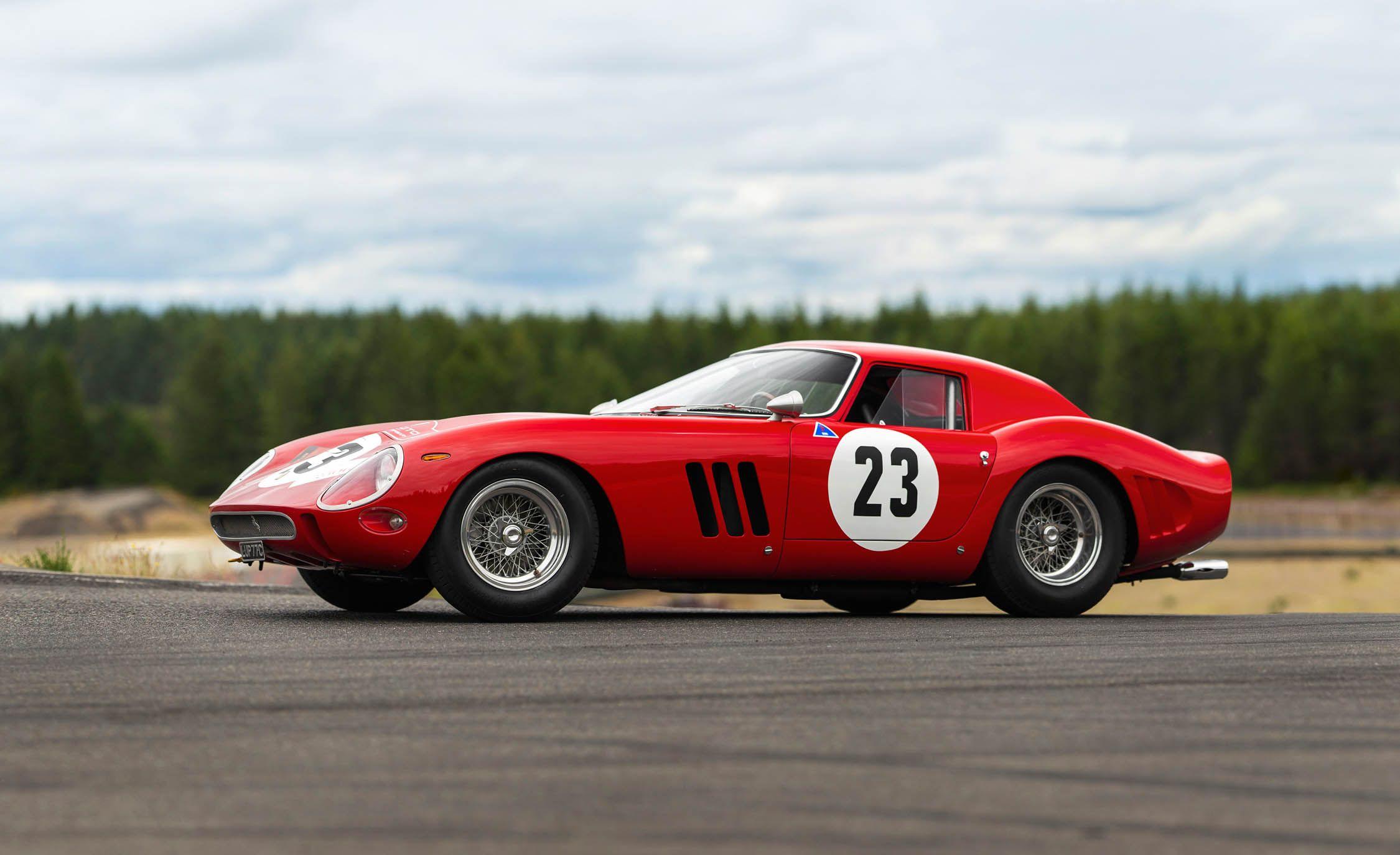 1962 Ferrari 250gto Sets World Record For Auction Price