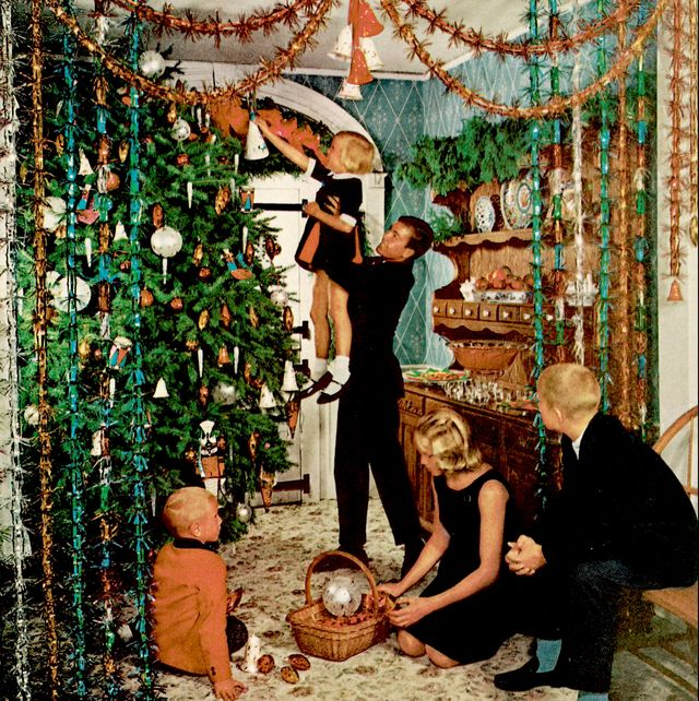 House Beautiful Christmas Decor Through the Years - Vintage ...