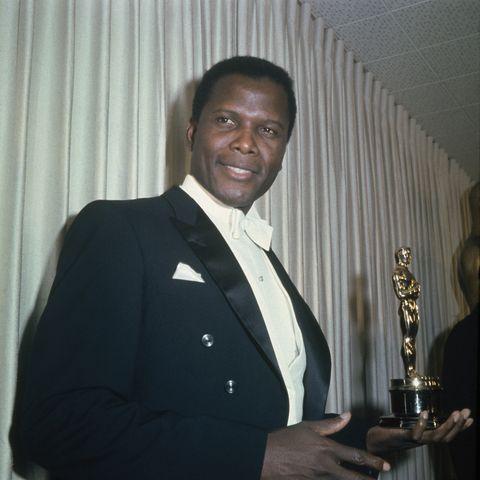 sidney poitier actores negros oscar