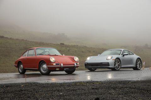 Land vehicle, Vehicle, Car, Regularity rally, Porsche 912, Porsche 911 classic, Coupé, Sports car, Porsche, Porsche 911,