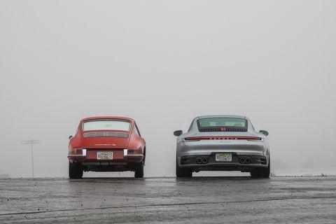 Land vehicle, Vehicle, Car, Automotive design, Porsche 911 classic, Porsche 930, Porsche 912, Porsche, Performance car, Porsche 959,