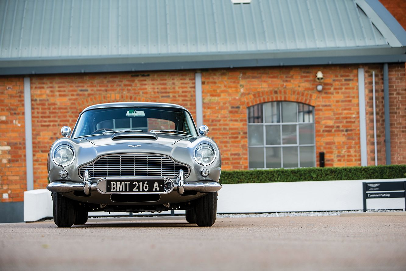 An Original James Bond Aston Martin DB5 Is Coming Up for Sale