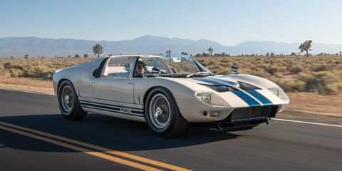 54 Years after We Drove This Ford GT40 Roadster, It's Being Auctioned for Millions