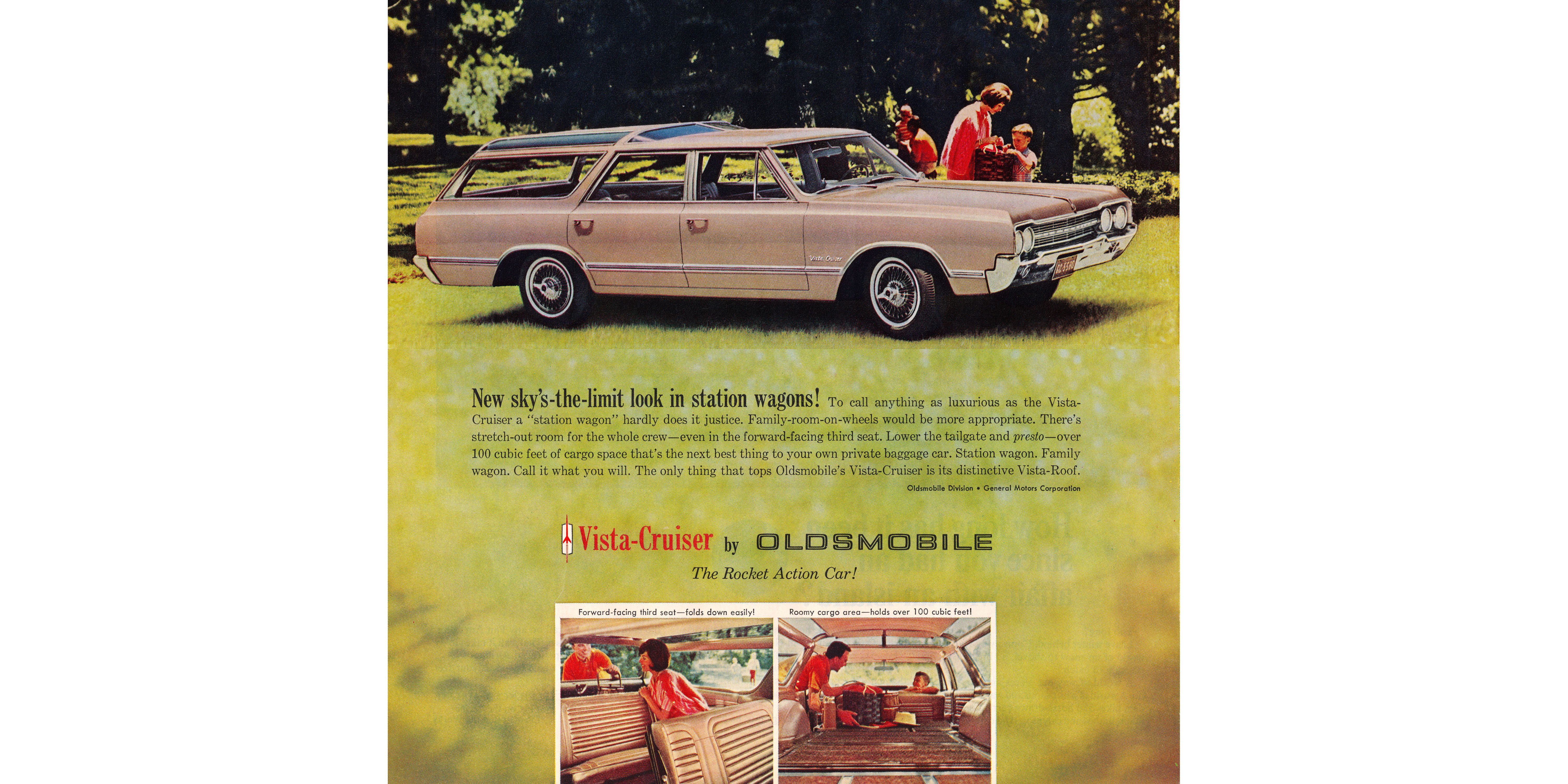 1965: Oldsmobile Vista Cruiser Too Luxurious to Be Called a Station Wagon