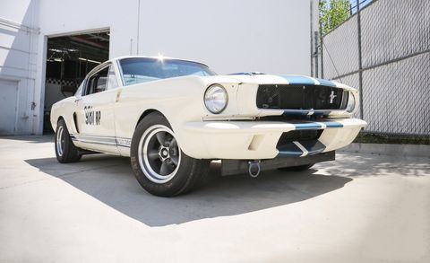 Driven: The 1965 OVC Shelby Mustang GT350R Is New, But It's