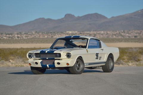 1965 Shelby Mustang GT350R prototype