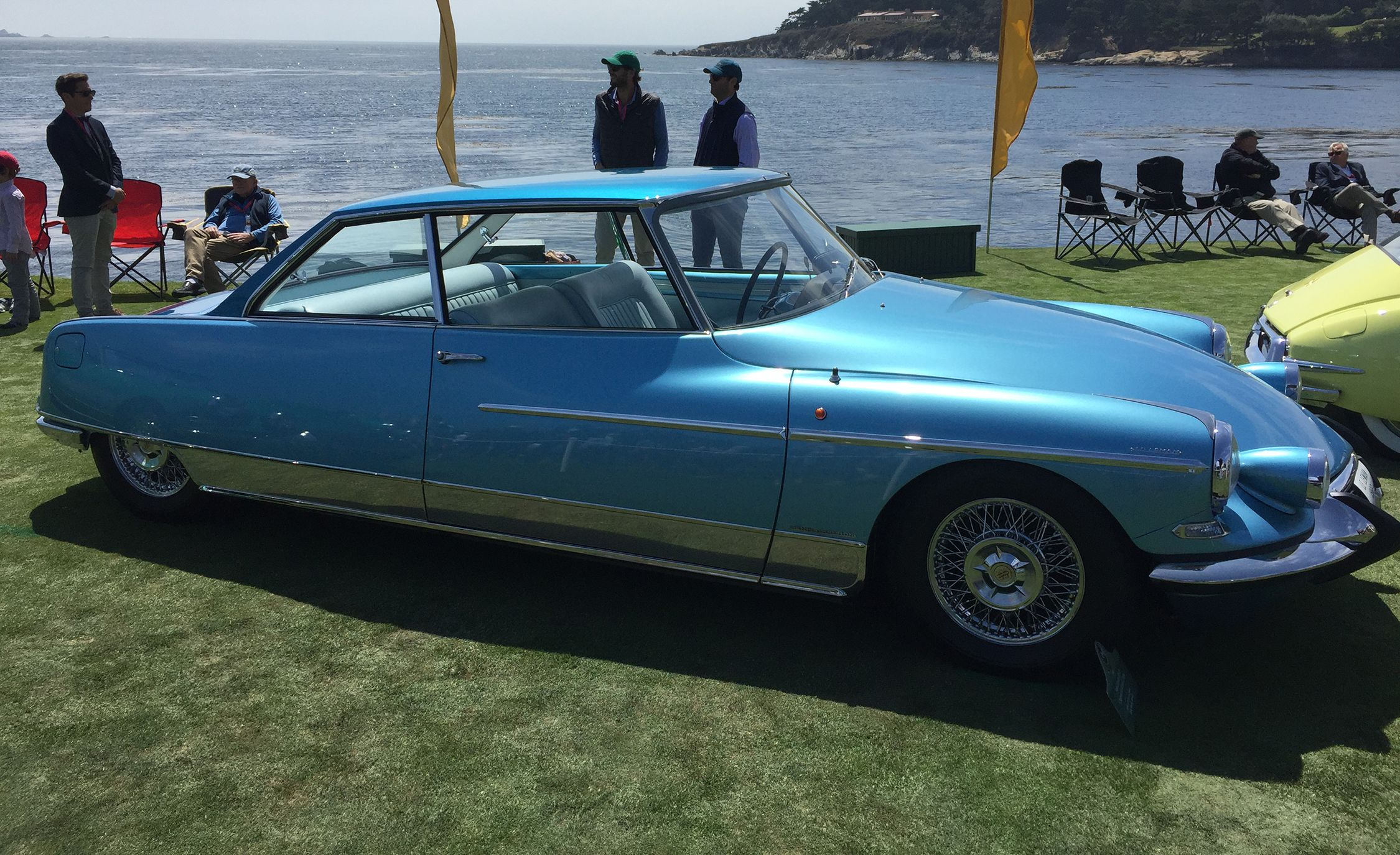 1966 Citroen DS at Pebble Beach