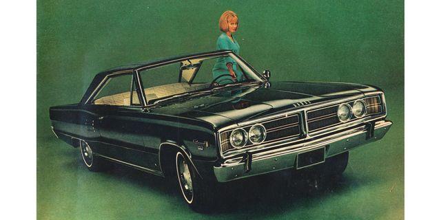 1966 dodge coronet 500 coupe magazine advertisement