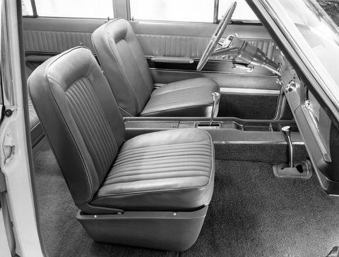 1966 super wagoneer interior