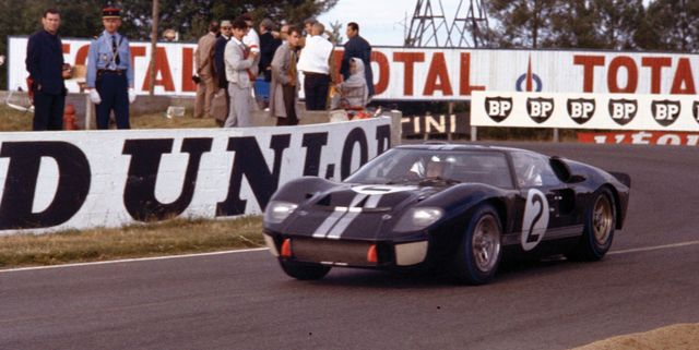 How Ford Built a NASCAR-Powered Car to Beat Ferrari at Le Mans