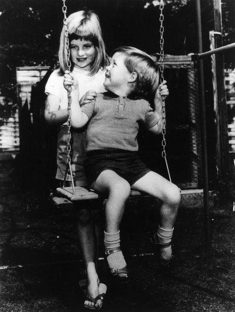 princess diana, 1967 - diana's brother charles edward maurice