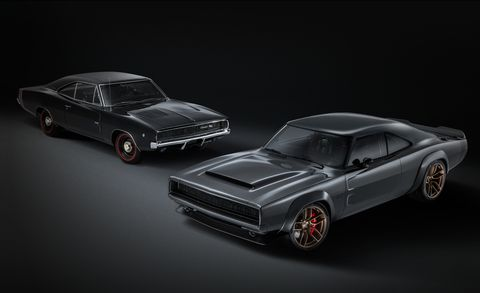 1968 Dodge Super Charger Custom concept