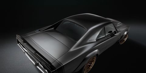 Photos from the Debut of the Mopar 1968 Dodge Super Charger Custom Concept
