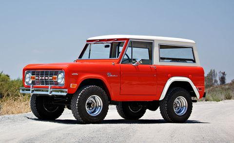 Ford And Ford Auction >> Ford Bronco Test Vehicle Restored And Up For Auction