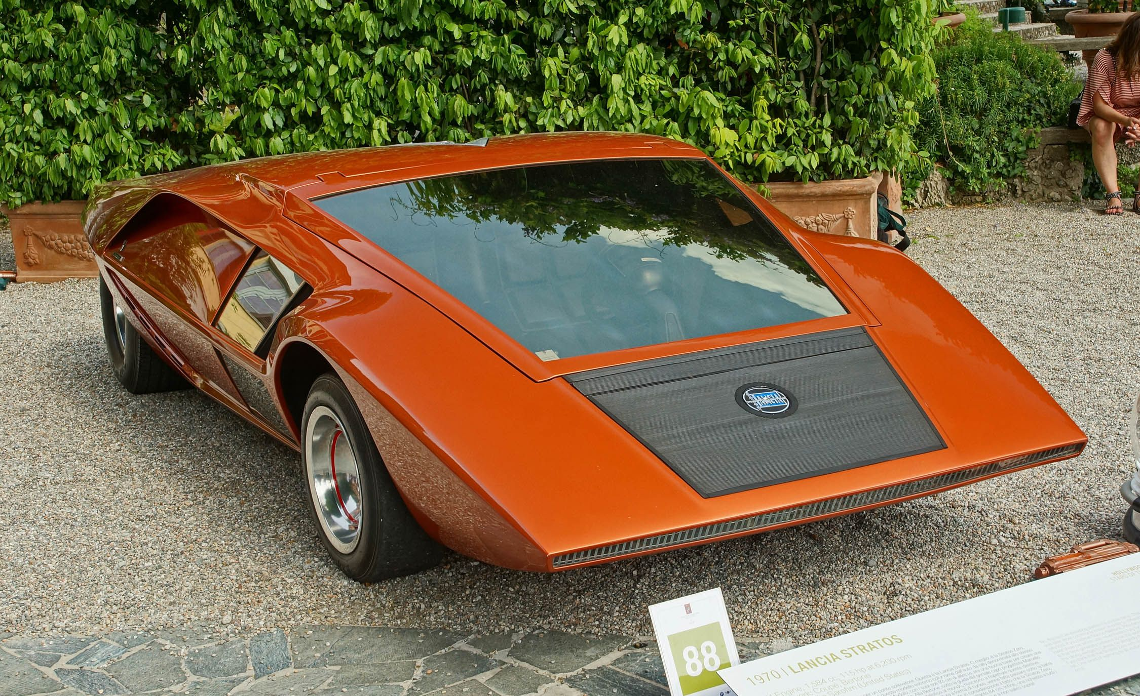 The Lancia Stratos Hf Zero From 1970 Was The Ultimate Wedge Shaped