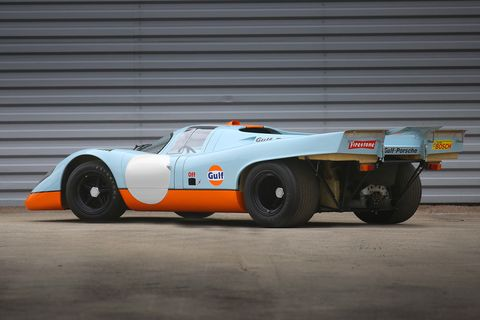 Steve McQueen's Le Mans-Starring Porsche 917 Sells for $14 Million