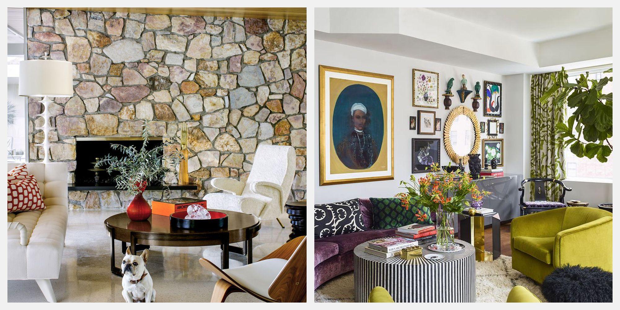 70s living room ideas - gorgeous 70s living room decor