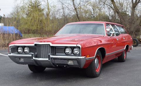 1971 Ford Galaxie 500 Wagon with Police V-8 - Up for Auction