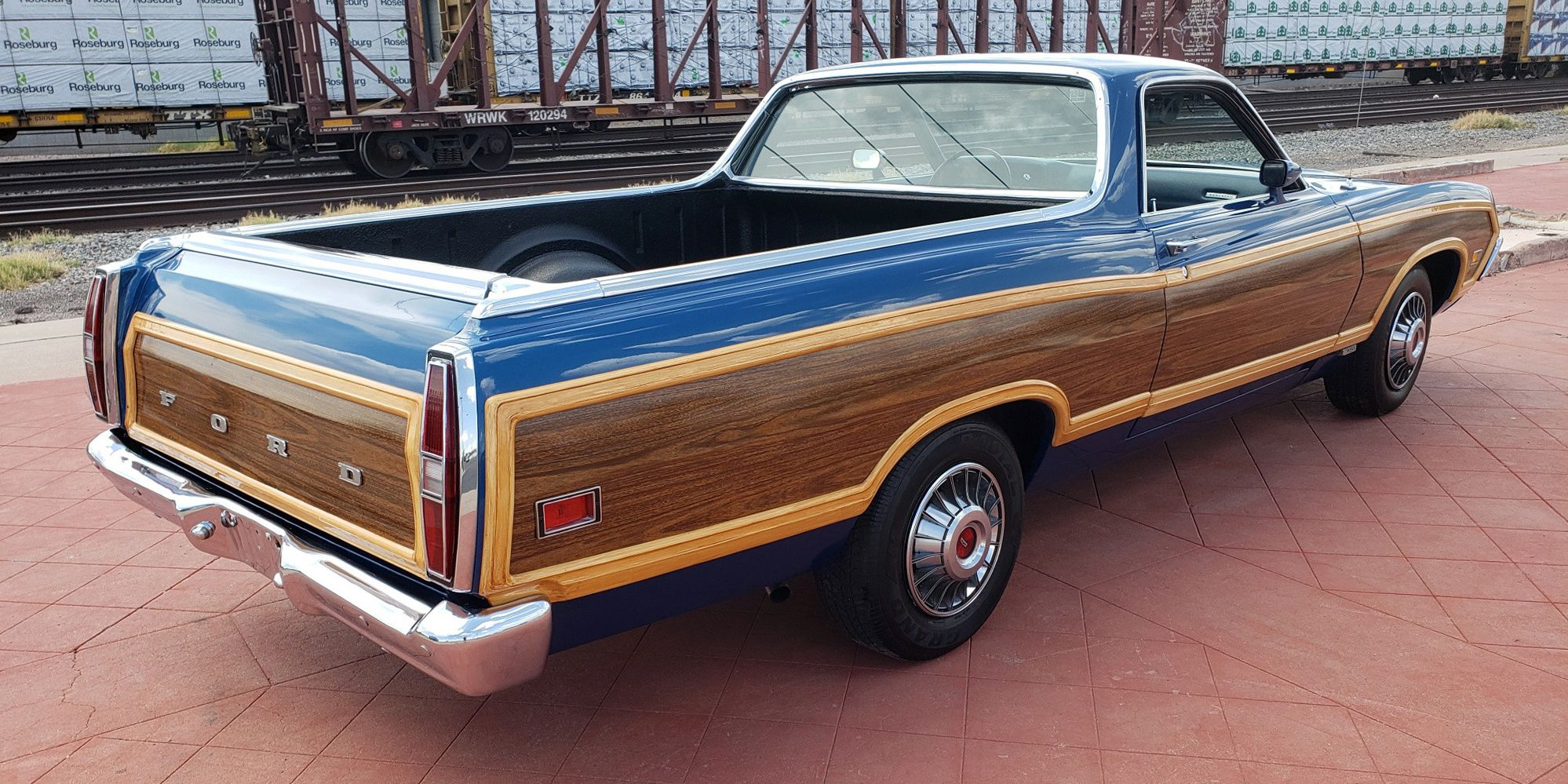 A 1971 Ford Ranchero Squire For When An El Camino Doesnt Have F100 Short Bed Sale Enough Wood