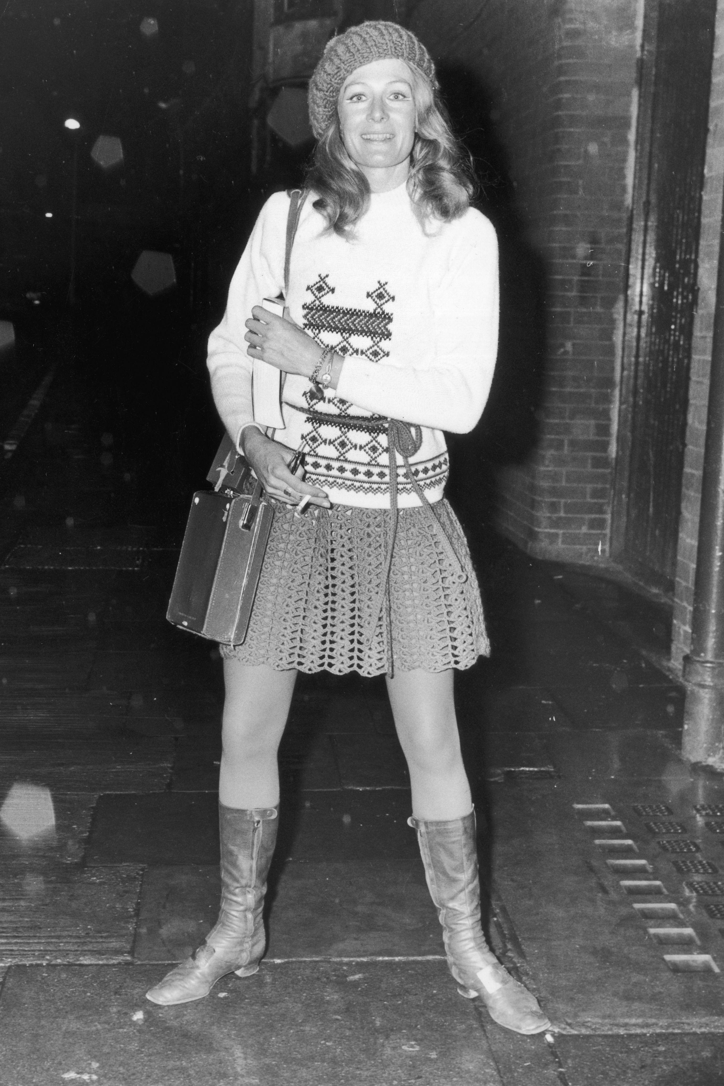 1972: Calf-High Boots