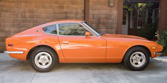 1-Owner Datsun 240Z Relives Nissan's Glory Days in Glorious Orange