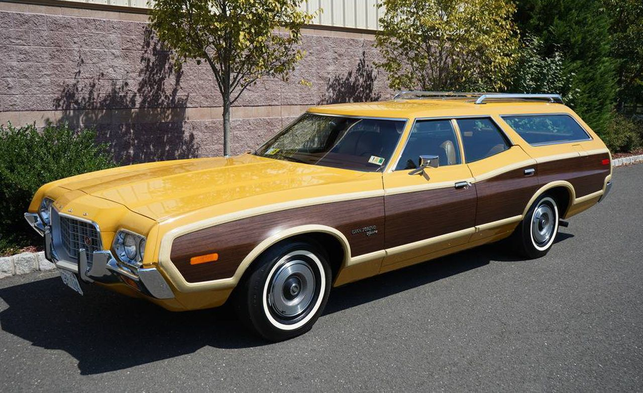 This 72 ford gran torino wagon just sold for nearly 50k