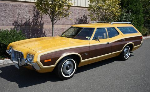 This '72 Ford Gran Torino Wagon Just Sold for Nearly $50K