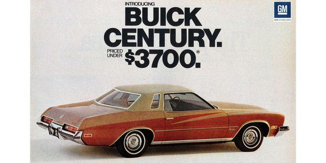 1973 buick century magazine advertisement