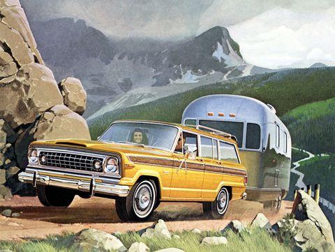 1974 jeep wagoneer ad
