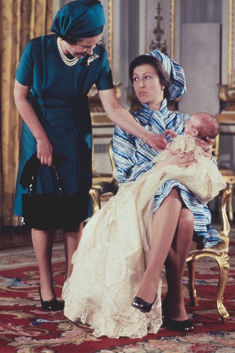 queen elizabeth peter phillips christening