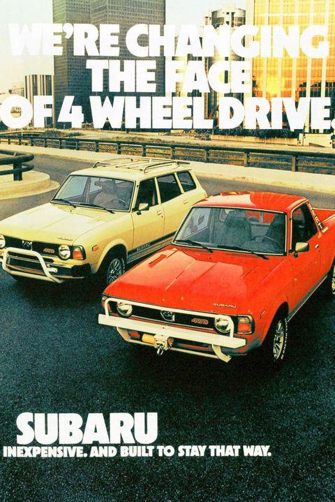 1978: Subaru BRAT