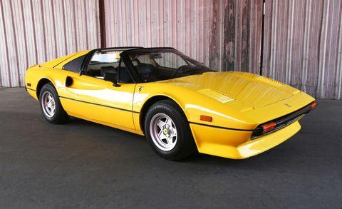 Land vehicle, Vehicle, Car, Sports car, Coupé, Ferrari 308 gtb/gts, Ferrari 328, Classic car, Supercar, Performance car,