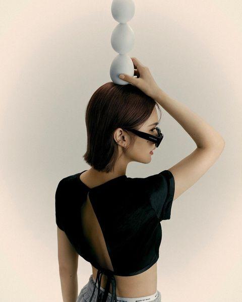 楊丞琳12款短髮造型盤點!「一刀剪無層次短髮、耳圈染」女生的髮型範本必看