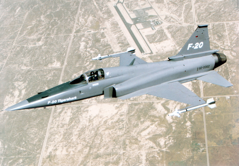 us air force photo of northrop f 20 tigershark