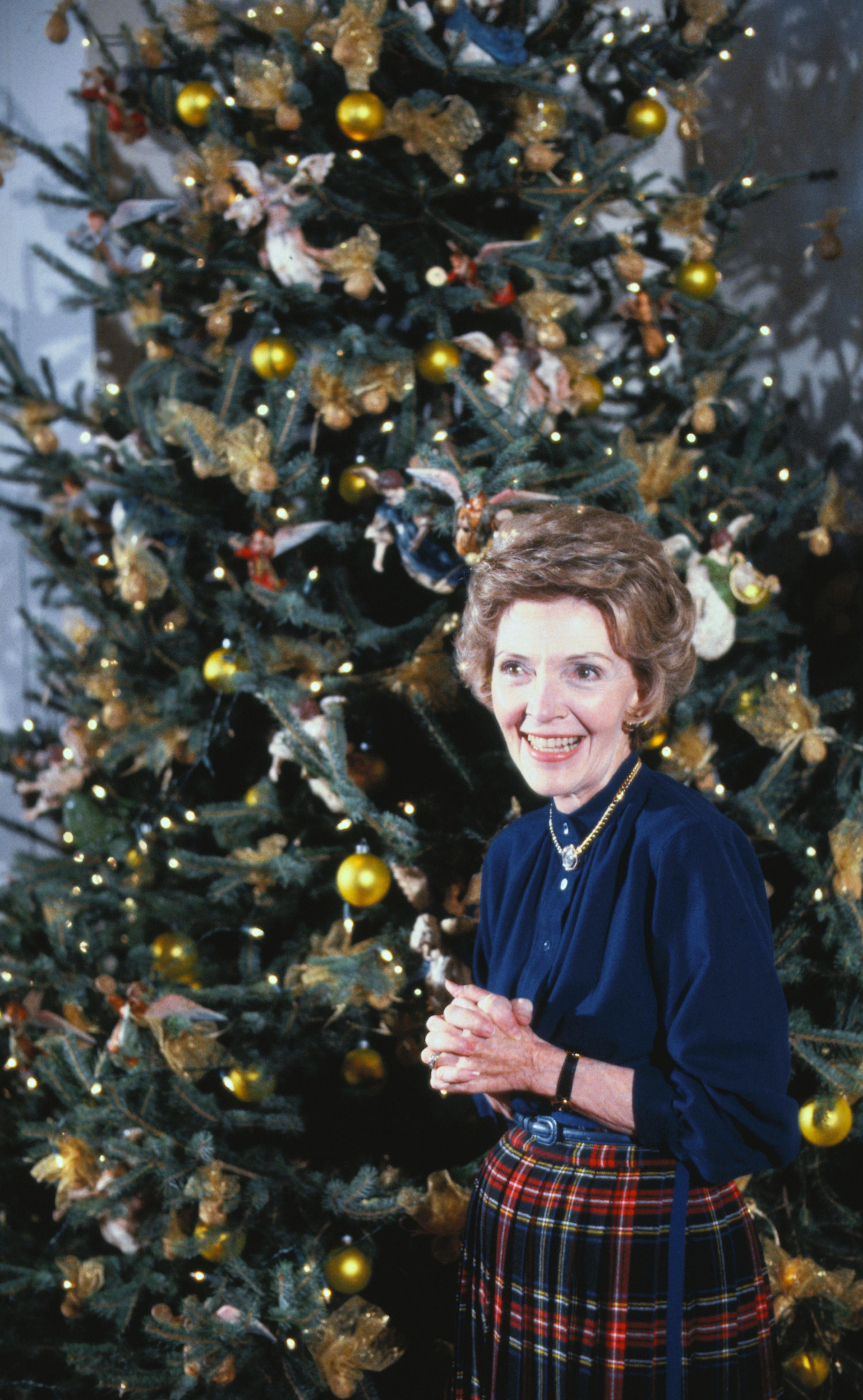 Whitehouse Christmas.A Timeline Of White House Christmas Decorations Through The