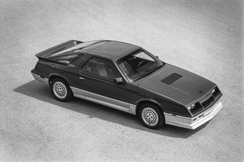 1984 dodge daytona turbo z