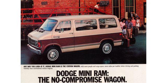 1983 dodge ram van magazine advertisement