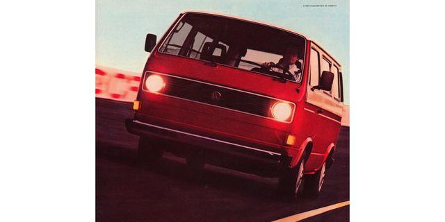 1983 volkswagen transporter magazine advertisement