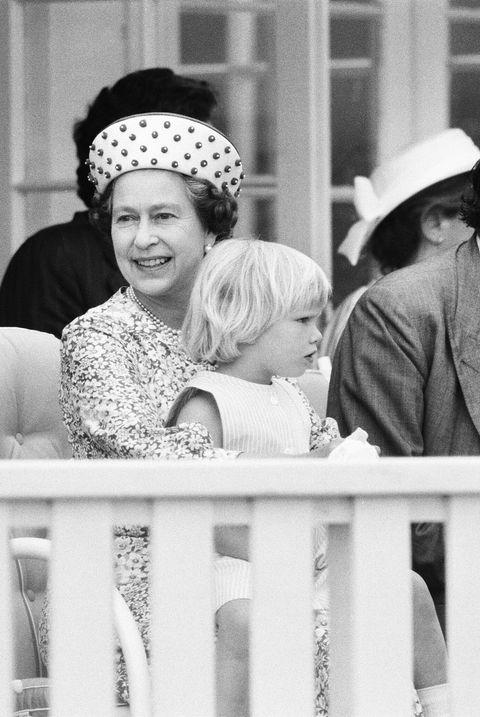queen elizabeth zara phillips 1984