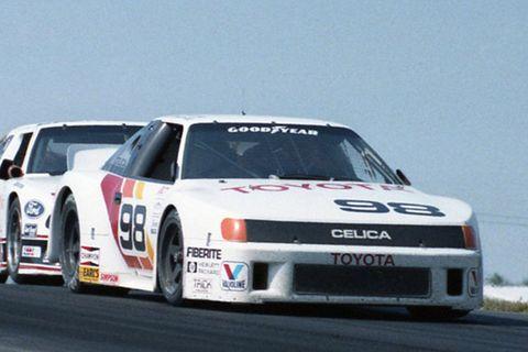1987 Celica Wins IMSA GTO