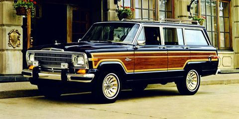 Land vehicle, Vehicle, Car, Sport utility vehicle, Jeep wagoneer, Jeep, Hardtop, Classic car, Compact sport utility vehicle,