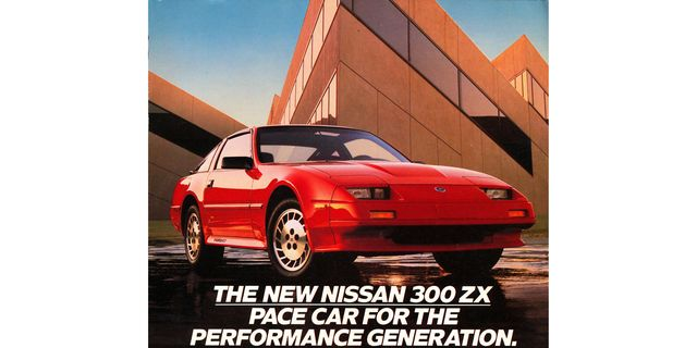 1986 nissan 300zx turbo magazine advertisement