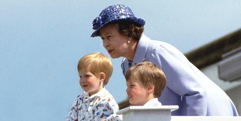 queen elizabeth prince william prince harry 1987